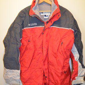 Columbia Core Men's Size L Red Winter Coat